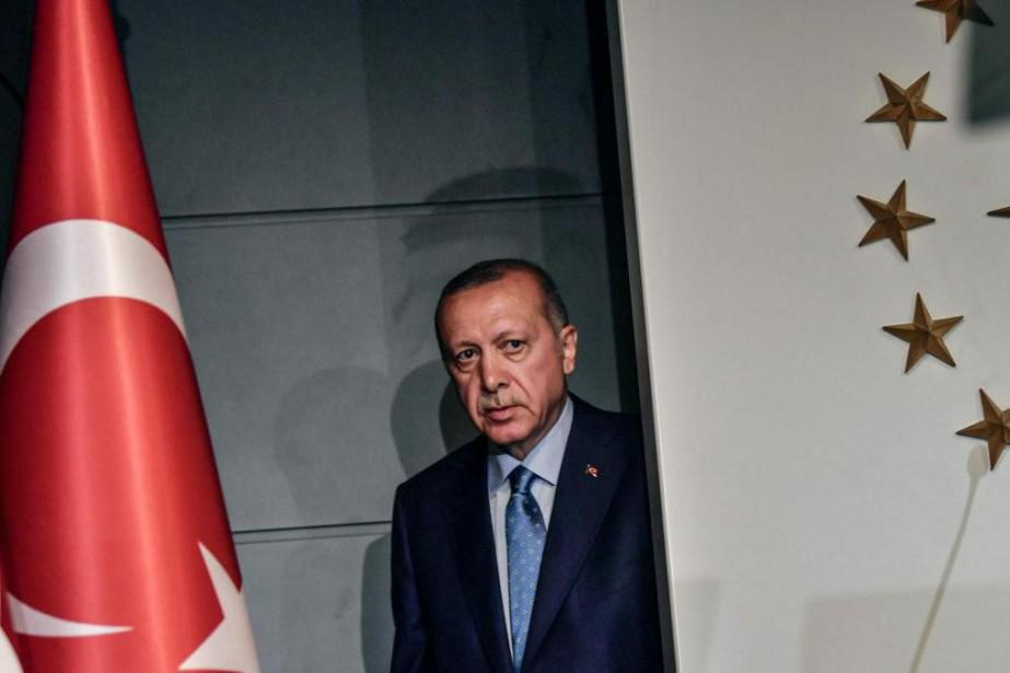 Le président turc Recep Tayyip Erdoğan a été... (PHOTO AFP)