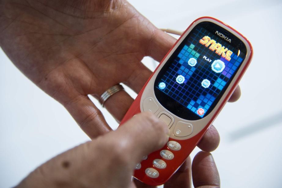 L'emblématique Nokia 3310.... (AFP)