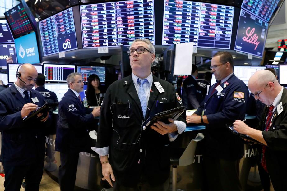 Wall Street a terminé dans le vert mardi.... (PHOTO ARCHIVES REUTERS)