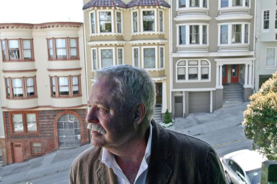 L'auteur Armistead Maupin à San Francisco, ville qui... (photo Jim Wilson, archives The New York Times)