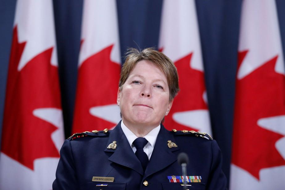 La commissaire de la GRC,Brenda Lucki.... (ARCHIVES REUTERS)