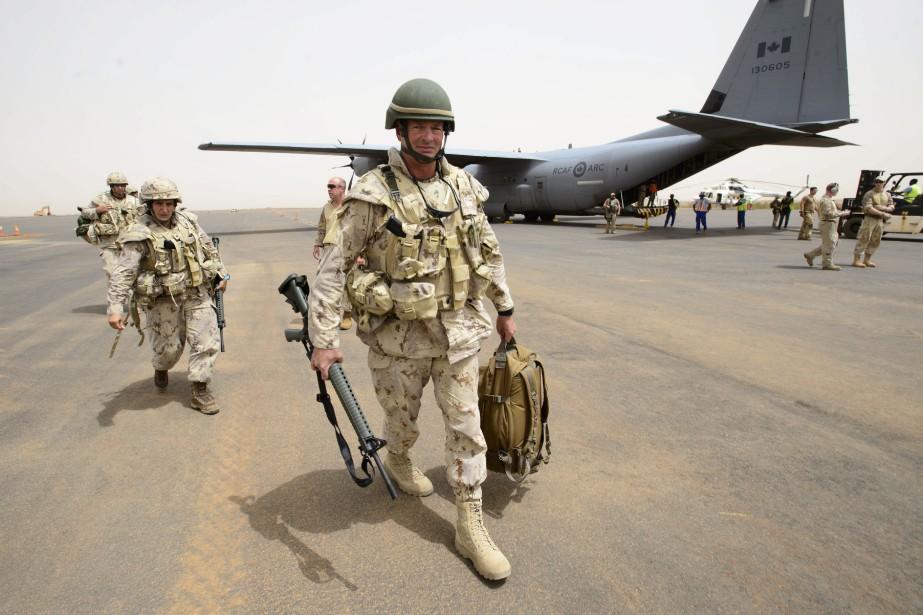 Les soldats canadiens sont arrivés au Mali lundi.... (Photo Sean Kilpatrick, La Presse canadienne)