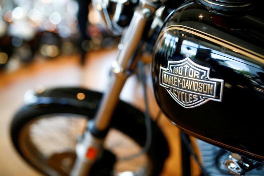 «Harley-Davidson a beau être en perte de vitesse... (PHOTO REUTERS)