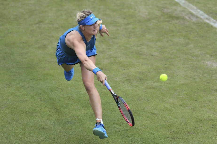Eugenie Boucharda vaincu la Tchèque Karolina Muchova 6-2,... (Photo archives AP)