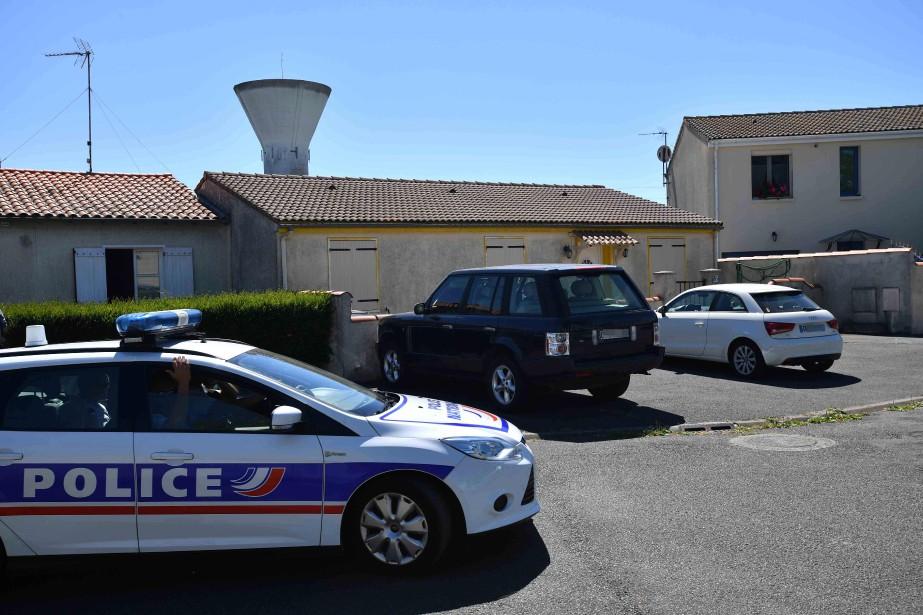 Photo prise le 25juin de la maison àTonnay-Charente,... (AFP)