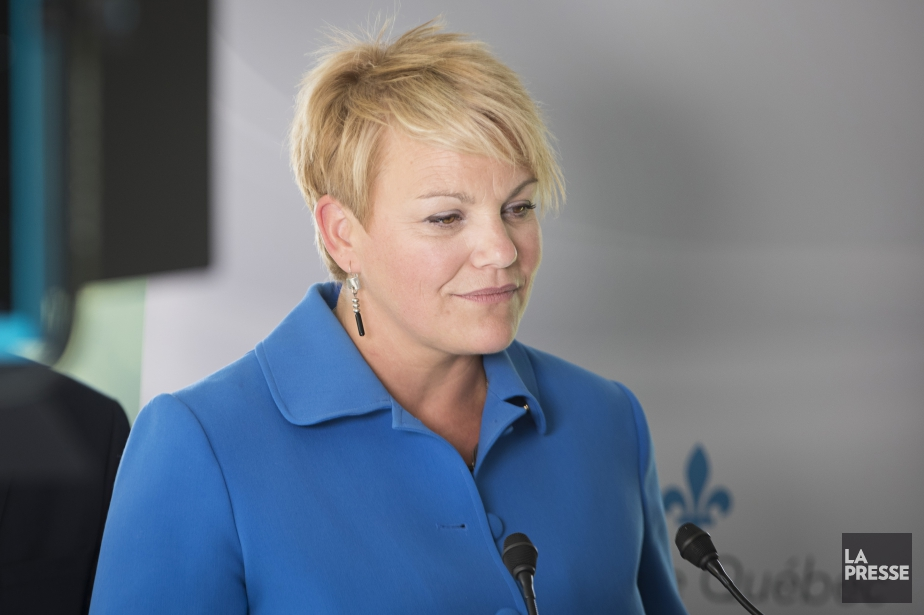 La ministre Isabelle Melançon a dit avoir été... (Photo Ivanoh Demers, La Presse)