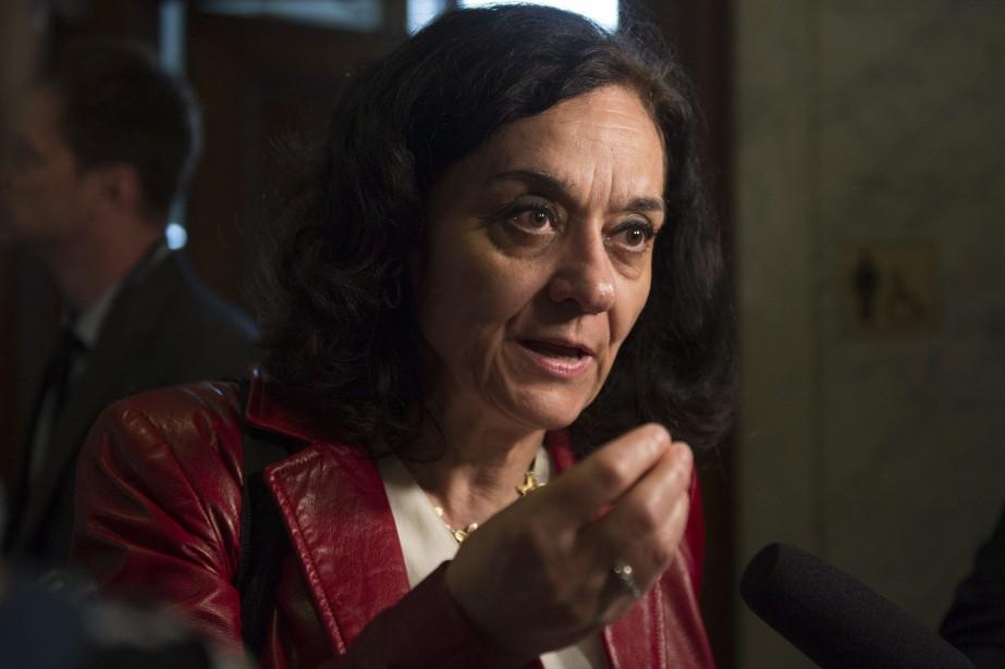 Rita de Santis, députée de la circonscription de... (Photo Jacques Boissinot, archives La Presse canadienne)
