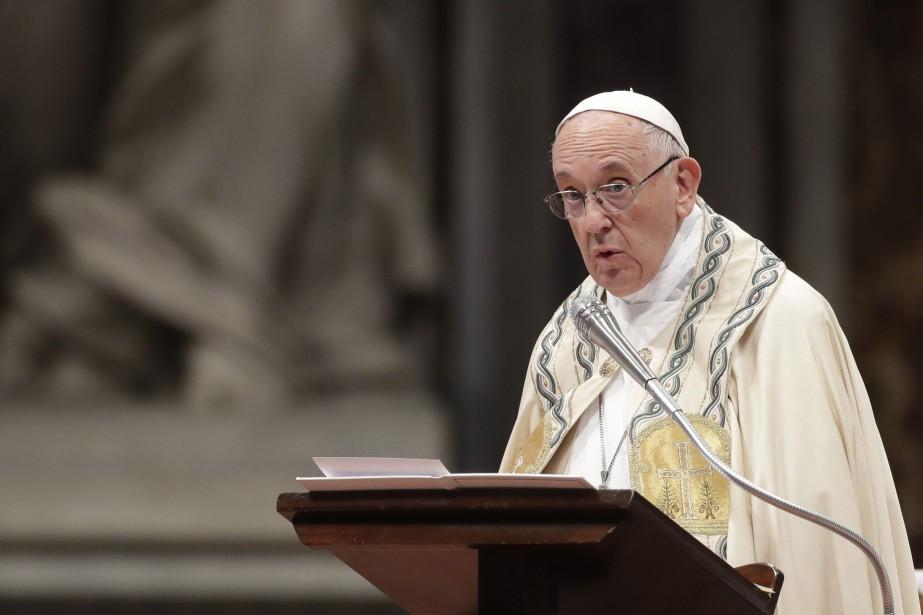 e pape François avait déjà accepté récemment la... (Photo Alessandra Tarantino, Archives AP)