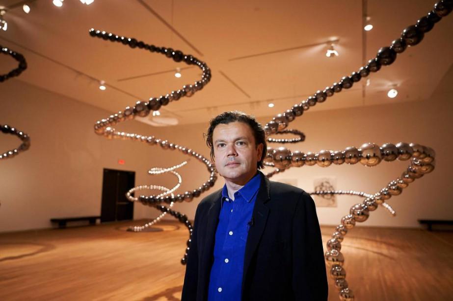 L'artiste français Jean-MichelOthoniel expose ses plus récentes créations... (Photo AndréPichette, La Presse)