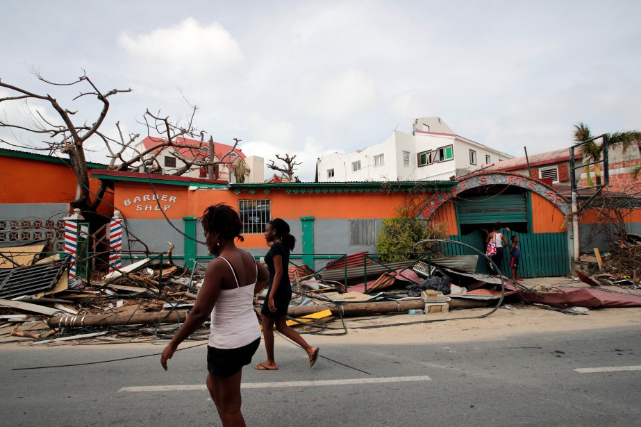 L'ouragan Irma avait dévasté les Caraïbes en septembre... (Photo Christophe Ena, Archives Reuters)
