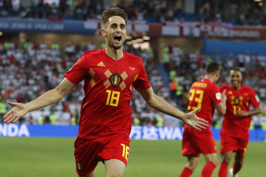 Adnan Januzaj a marqué le but de la... (Photo Alastair Grant, AP)