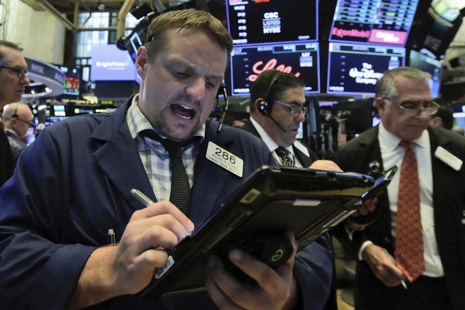 Les indices de Wall Street ont fortement hésité... (Photo Richard Drew, Associated Press)