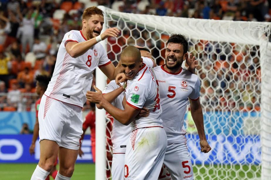 Wahbi Khazri (au centre) a inscrit le but... (Photo Juan Barreto, AFP)