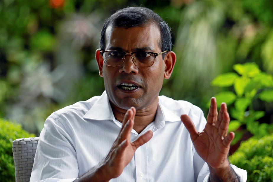 Mohamed Nasheed, 51 ans, a fait part de... (Photo Dinuka Liyanawatte, Reuters)