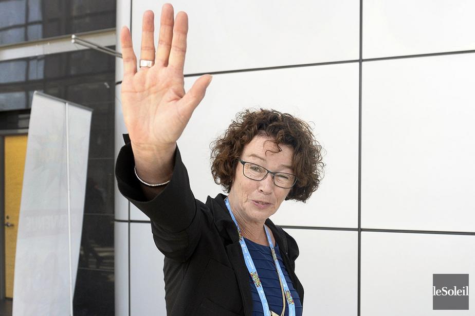 Sonia Éthier succède à Louise Chabot (notre photo)... (Jean-Marie Villeneuve, archives Le Soleil)