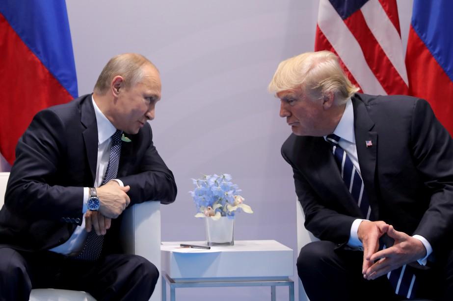 Vladimir Poutine et Donald Trump ont rendez-vous à... (Photo Carlos Barria, archives Reuters)