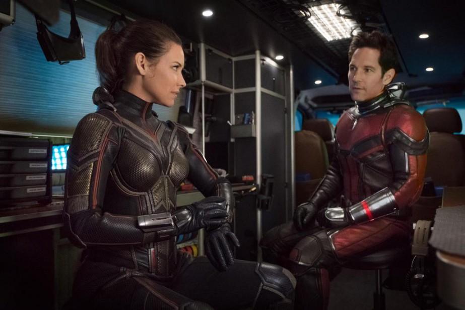 Evangeline Lilly et Paul Rudd dans Ant-Man and... (image fournie par Disney Pictures)