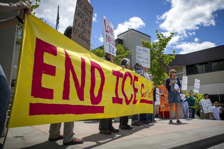 Un mouvement prend de l'ampleur aux... (Photo Andy Nelson, Associated Press)