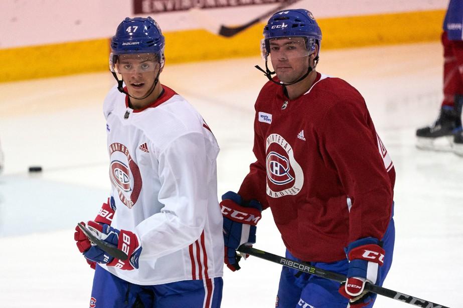 Les deux espoirs au centre du Canadien, Ryan... (Photo André Pichette, La Presse)