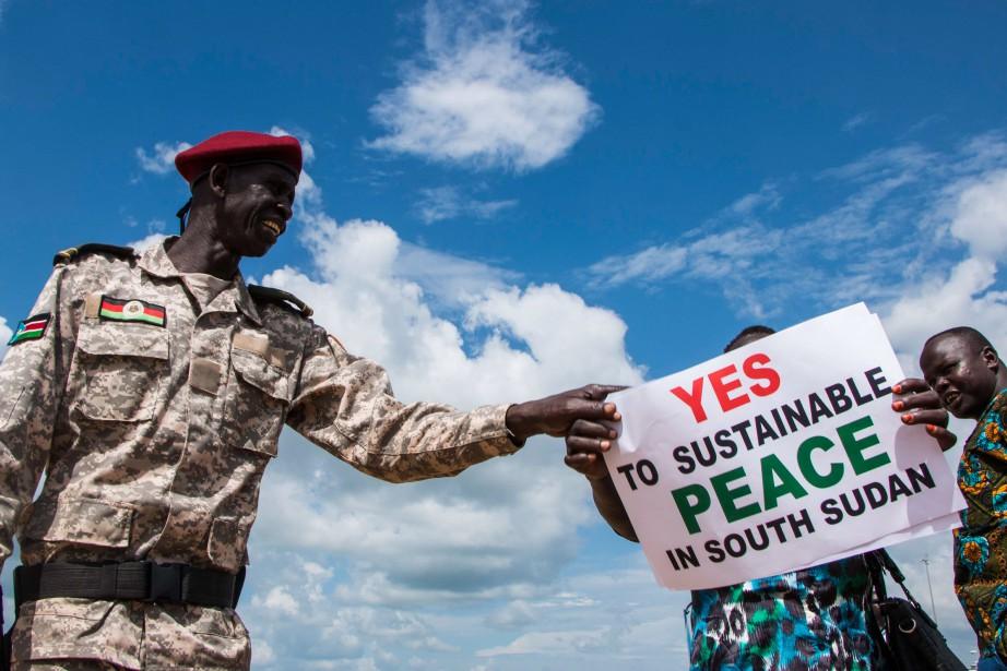 Des millions de personnes risquent la famine alors... (PHOTO Akuot Chol, ARCHIVES AFP)