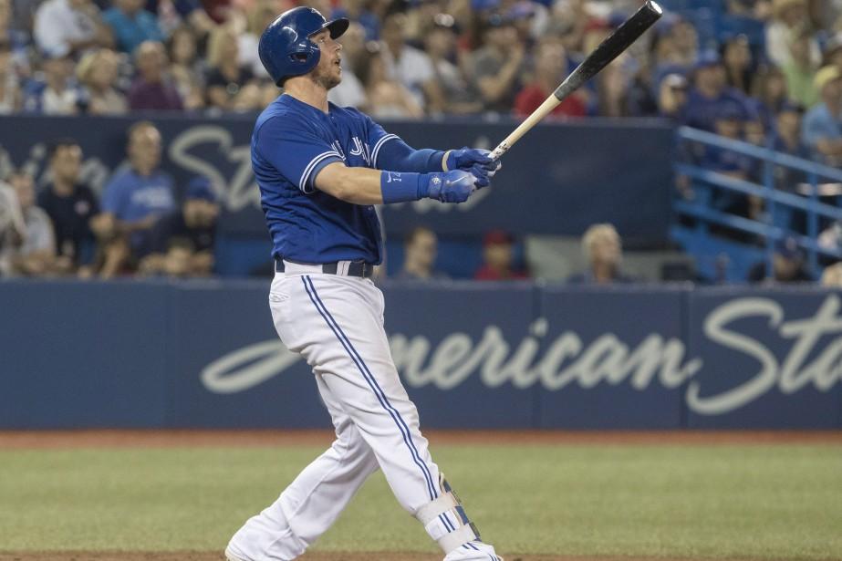 Justin Smoak... (Photo La Presse canadienne)