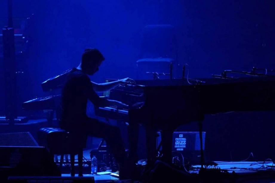 Jean-Michel Blaisà la Maison symphonique,hier... (photoBenoit Rousseau, fournie par le FIJM)
