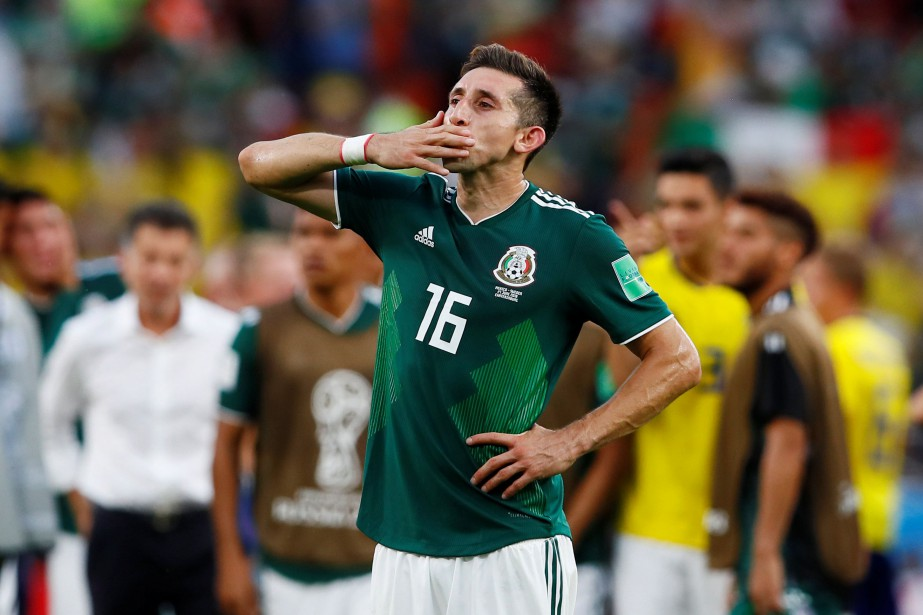 Hector Herrera... (archives REUTERS)
