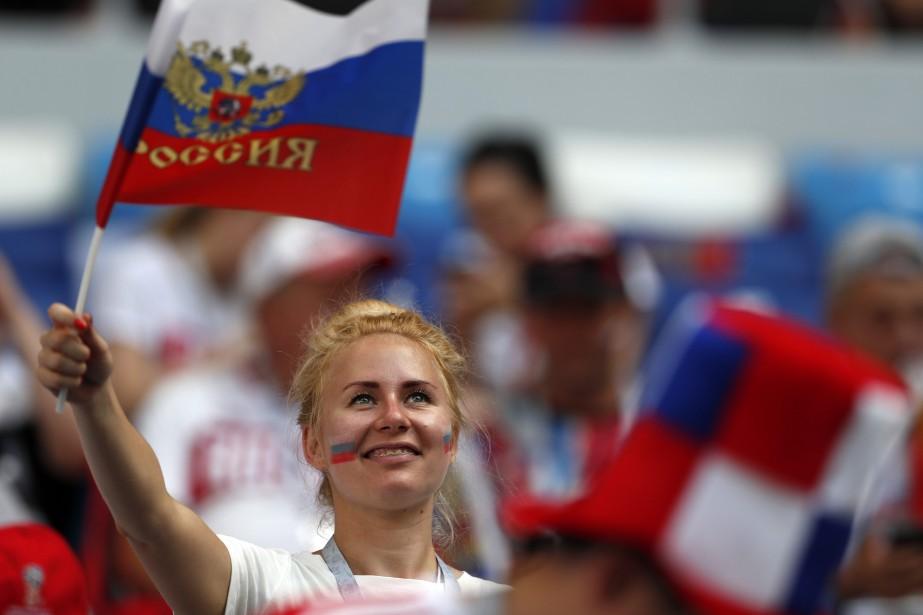 La sélection russe rêve d'entendre de nouveau les... (AP)