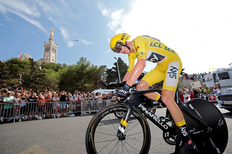 Chris Froome, quadruple vainqueur du Tour de France,... (PHOTO JEAN-PAUL PELISSIER, ARCHIVES REUTERS)