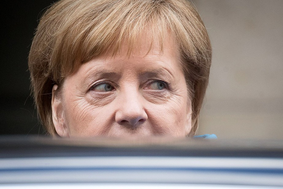 Angela Merkel... (Michael Kappeler, AFP)