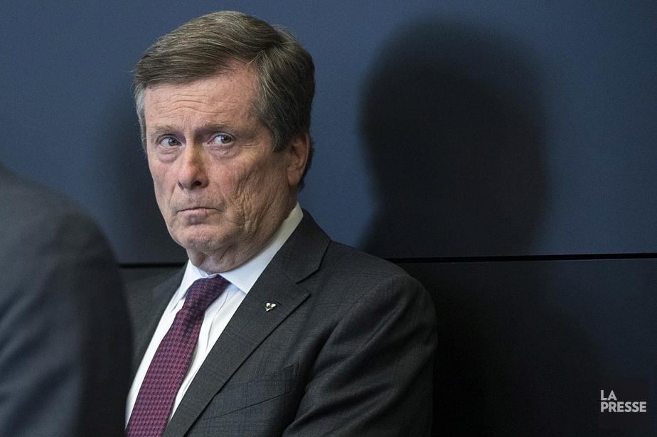 Le maire de Toronto, John Tory.... (OLIVIER JEAN, ARCHIVES LA PRESSE)