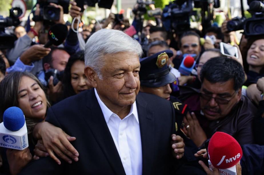 Habitué aux phrases polémiques, Andres Manuel Lopez Obradora... (REUTERS)