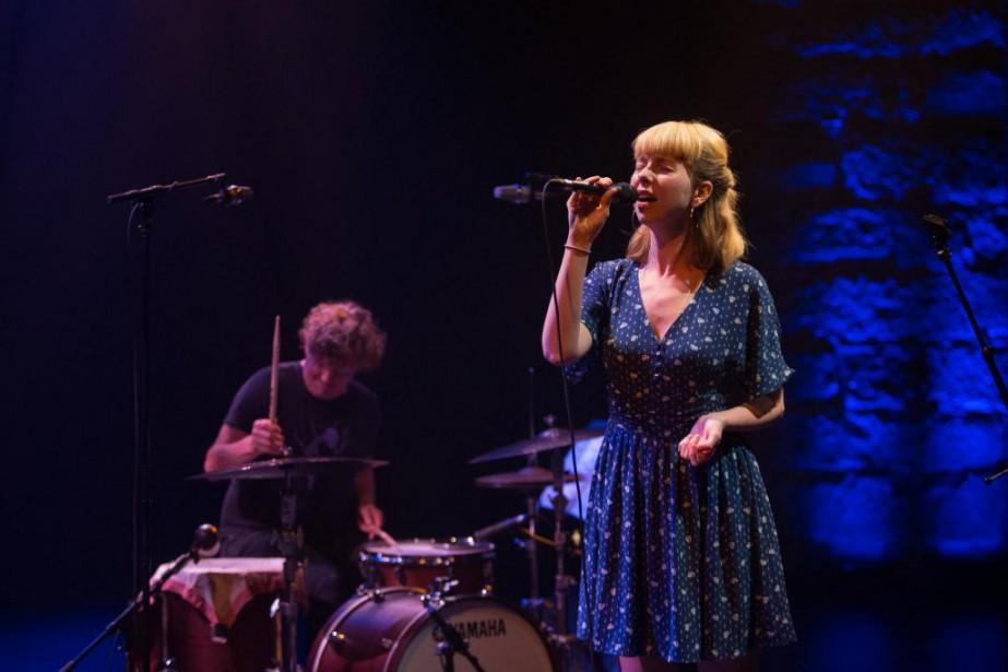 Emma Frank en concert au Festival international de... (PHOTO ALEXIS AUBIN, COLLABORATION SPÉCIALE)