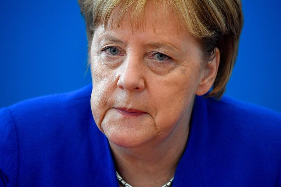 Angela Merkel... (John MACDOUGALL, AFP)
