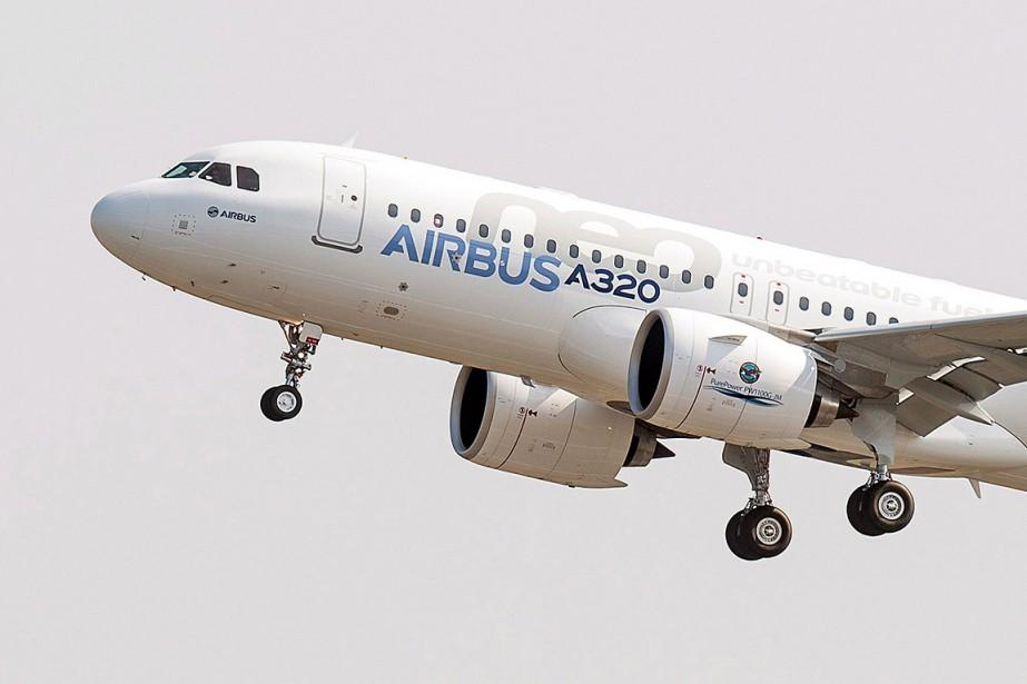 Un avion A320neo.... (Frederic Lancelot, archives AP)