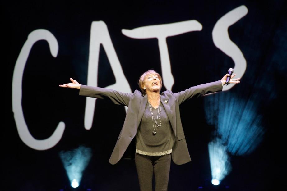 La chorégraphe britannique Gillian Lynne en 1995.... (Photo archives AP)