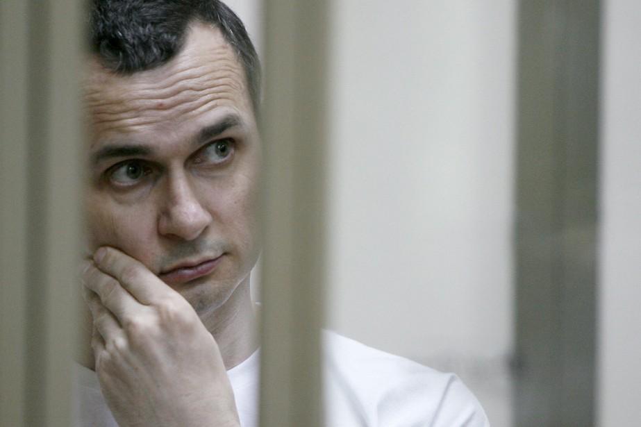 Le cinéaste ukrainien Oleg Sentsov, emprisonné en Russie... (Photo archives AFP)