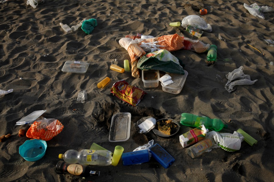 Sur les 275000tonnes supplémentaires de plastique recyclé d'ici... (photo Jon Nazca, archives REUTERS)