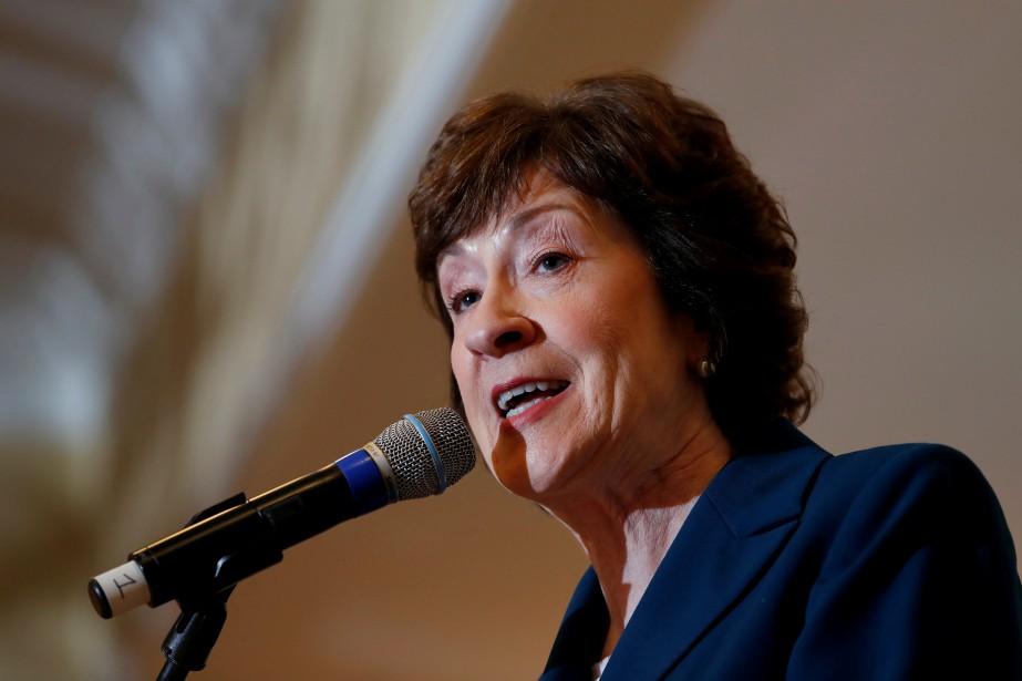 La sénatrice républicaine Susan Collins est l'une des... (Photo Joel Page, archives REUTERS)