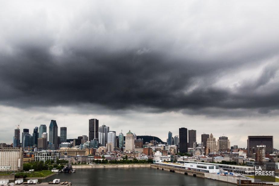 Cette tempête est annoncée alors qu'un avertissement de... (PHOTO MARTIN TREMBLAY, archives LA PRESSE)