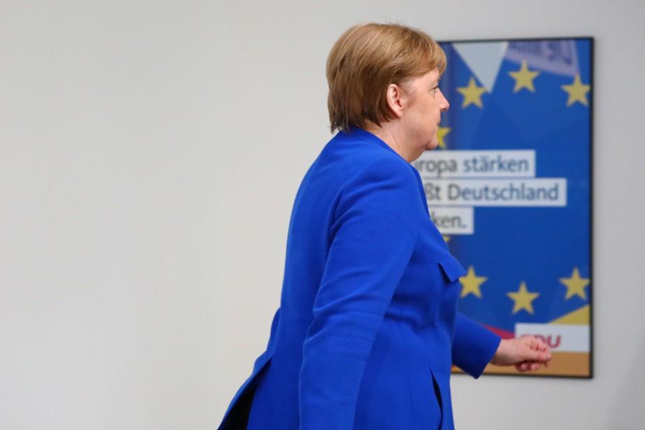 Après presque 13années au pouvoir, la chancelièreAngelaMerkel se... (photo Hannibal Hanschke, REUTERS)