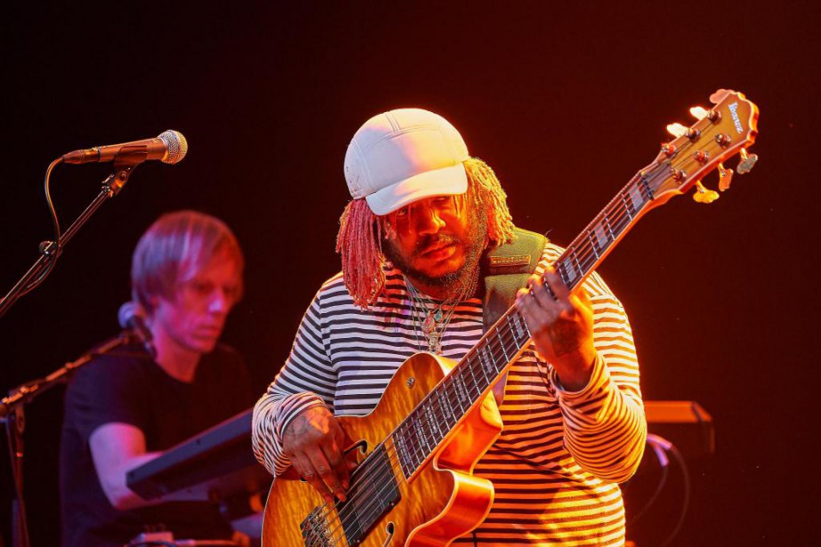 Thundercat en concert au Festival international de jazz... (PHOTO ANDRÉ PICHETTE, LA PRESSE)