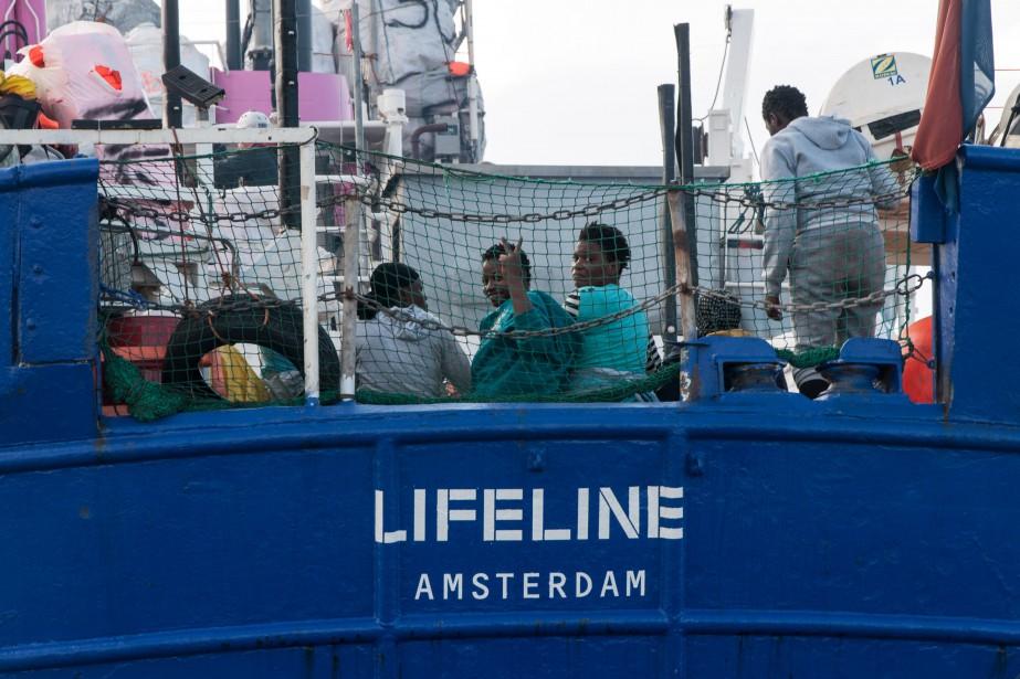 Les réfugiés concernés sont, dans les deux cas,... (AFP)