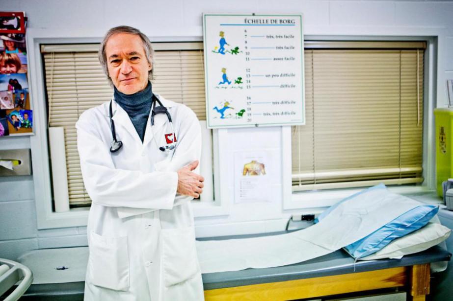 Le DrMartin Juneau, directeur de la prévention à... (photo Patrick Sanfacon, archives La Presse)