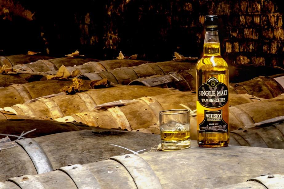 La distillerie Claeyssens de Wambrechies a produit jusqu'à... (Photo AFP)