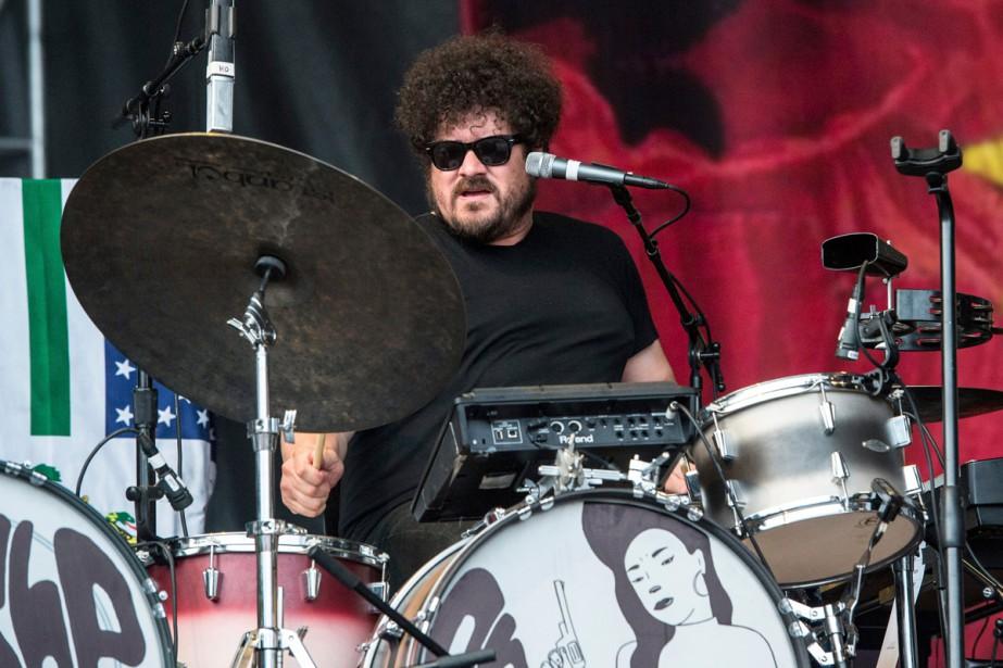 Richard Swift lors d'un spectacle à Lollapalooza en... (Photo archives AP)