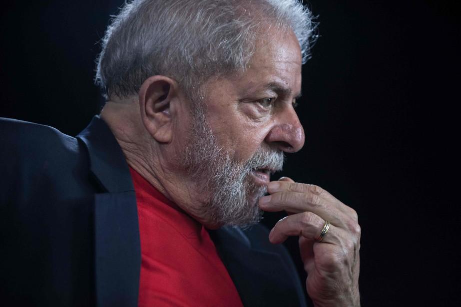 L'ex-président brésilien est emprisonné depuis avril pour corruption... (Photo Nelson Almeida, Archives AFP)