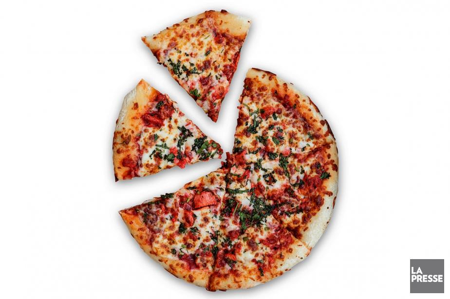 Lapizza poulet tandoori de Pizza Jarry... (PHOTO ALAIN ROBERGE, LA PRESSE)
