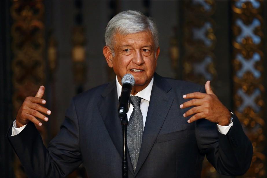 Le président élu du Mexique, Andrés Manuel... (Photo Edgard Garrido, Reuters)