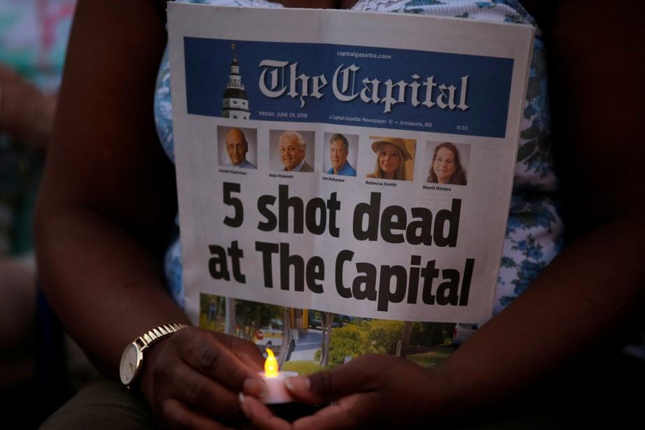 La tireur a une histoire bien documentée de... (photo Leah Millis, archives REUTERS)